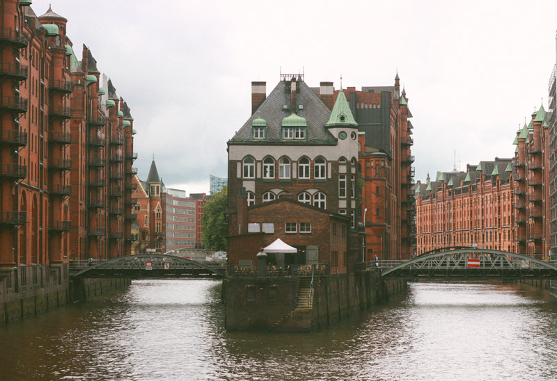 Le Speicherstadt de Hambourg