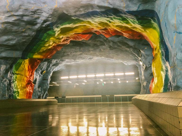 Station de métro Station Stockholm