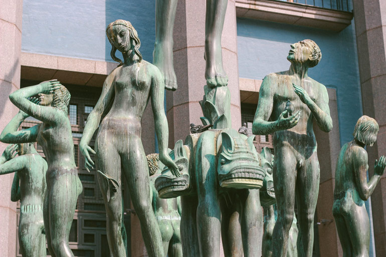 Statues de la place Hortoget