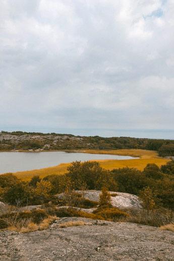Vrångö et sa réserve naturelle dans l'archipel de Göteborg