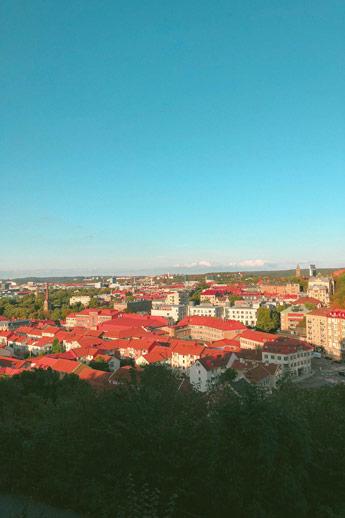Une vue au dessus de Göteborg