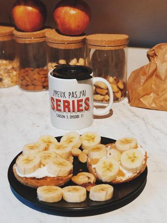 Les muffins banane et beurre de cacahuètes, mon petit déjeuner préféré