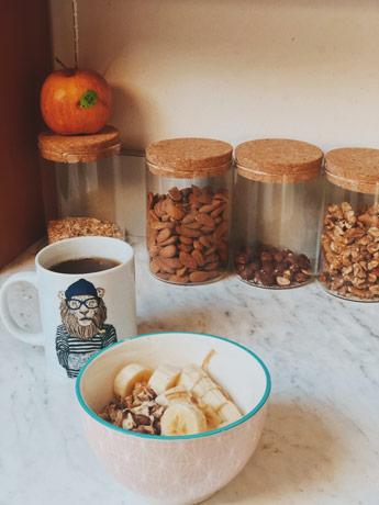 Porridge à la banane pour un parfait petit déjeuner sain