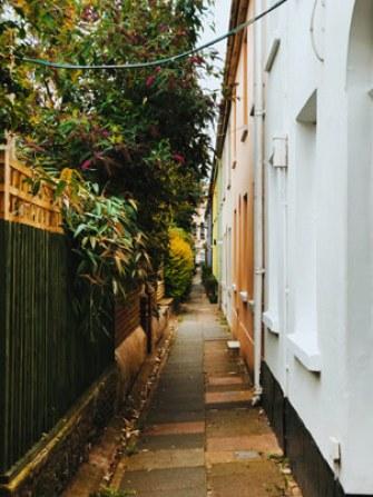 Admirer les couleurs des ruelles de Brighton