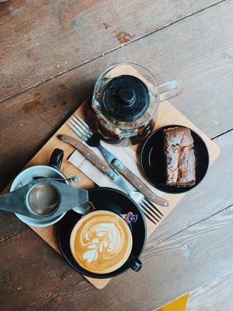 Coffee shop Pelicano à Brighton