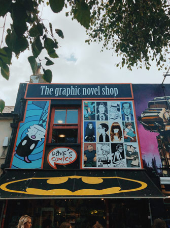 Street art sur The Graphic Novel à Brighton