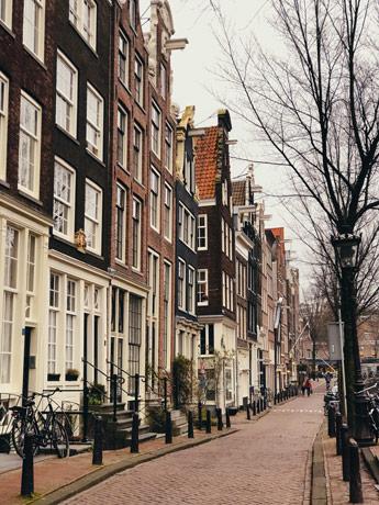 Le quartier des canaux ouest d'Amsterdam