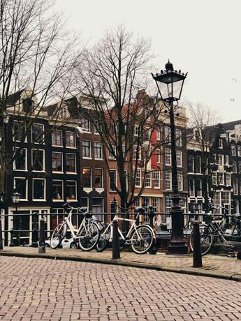 Le quartier ouest d'Amsterdam