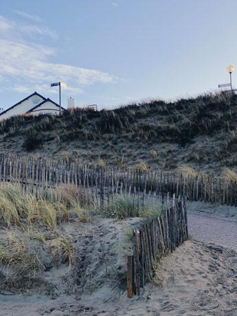La plage de Zaandvort