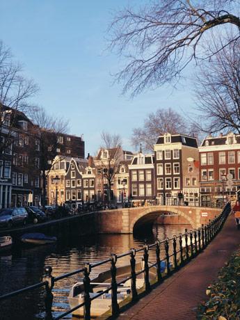 Le quartier de Pipj à Amsterdam