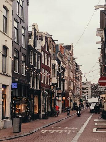 Les neufs rues d'Amsterdam