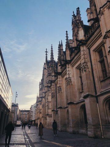 L'architecture du Palais de Justice de Rouen