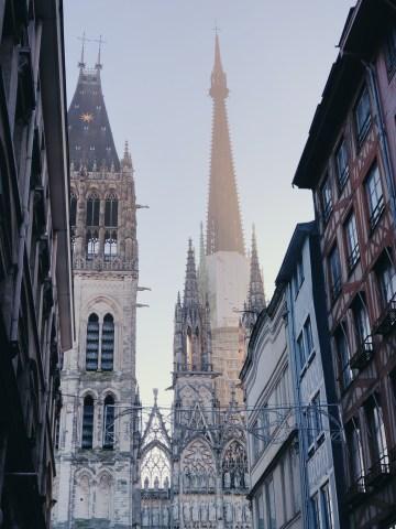 Cathédrale de Rouen au petit matin