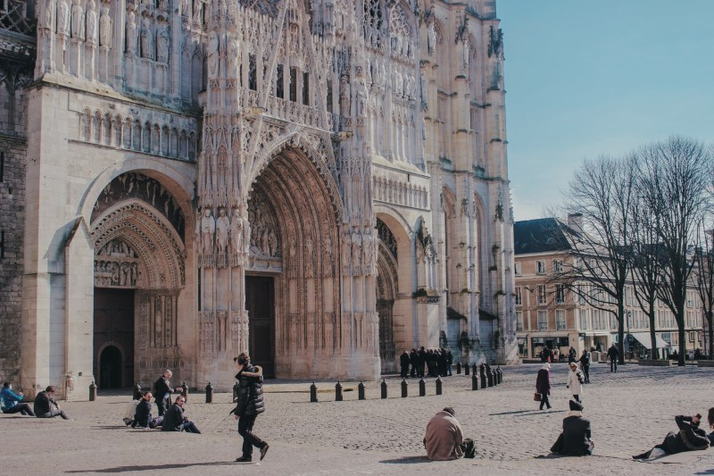 Place de la Cathédrale de Rouen