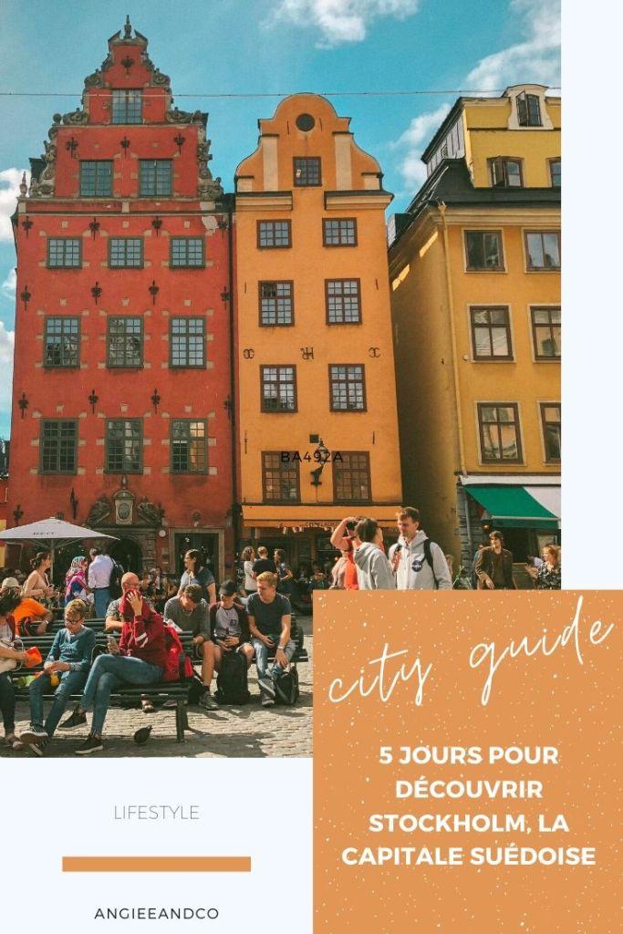 Découvrez Stockholm en cinq jours