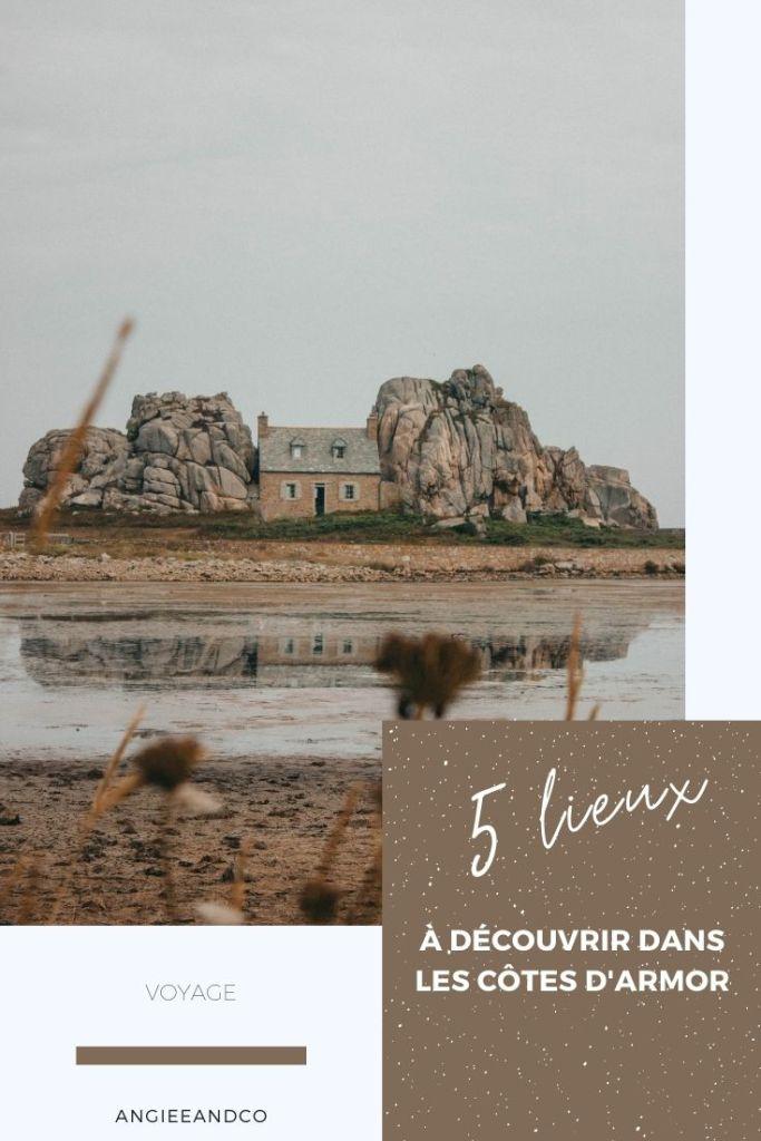 Epingle Pinterest pour mon article sur notre séjour dans le nord de la Bretagne