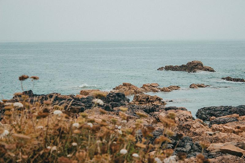 La beauté des paysages autour de Plougrescant en Bretagne