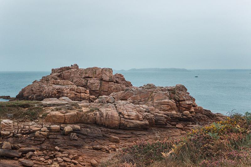 Les sublimes côtes de Granit rose