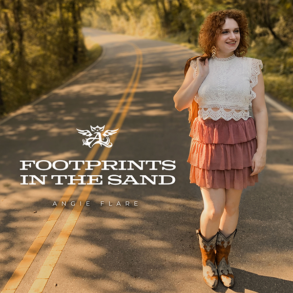 Footprints in the Sand - Angie Flare