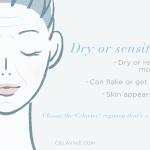 Dry/Sensitive Infographic