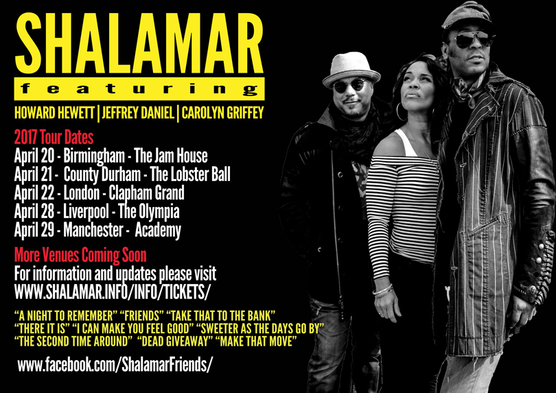 Shalamar Advert