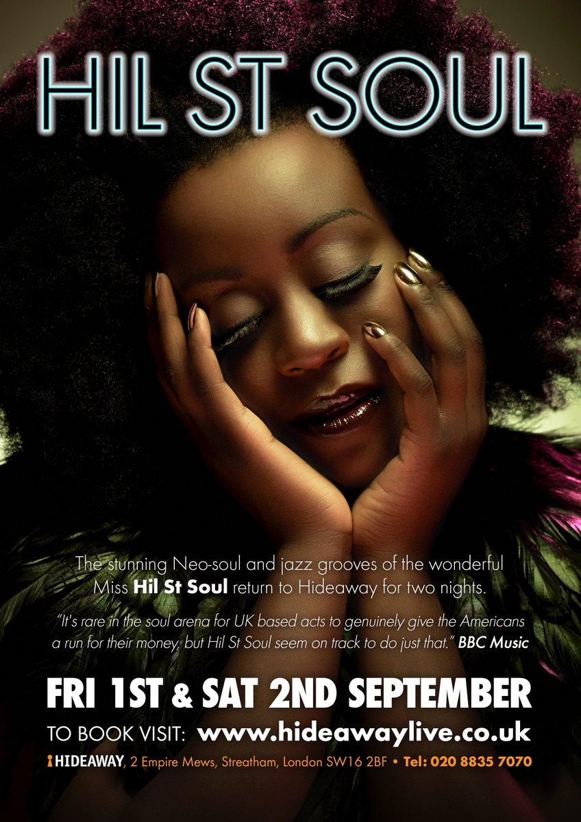 Hil St Soul Event Flyer