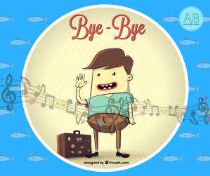 Bye, bye, goodbye. English songs and stories for kids