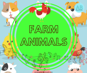 Farm animals. Songs, stories and cartoons