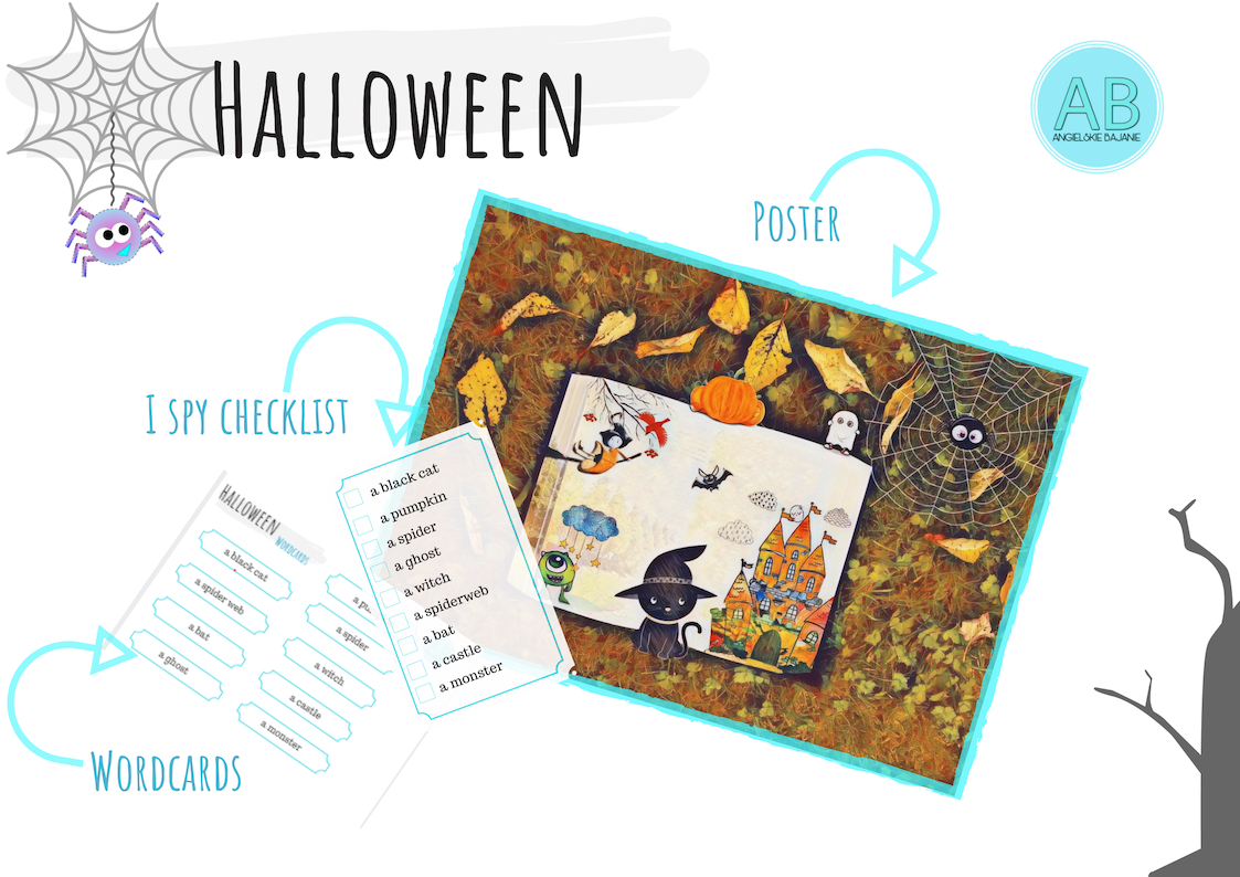 Printable free download Halloween Poster Pack
