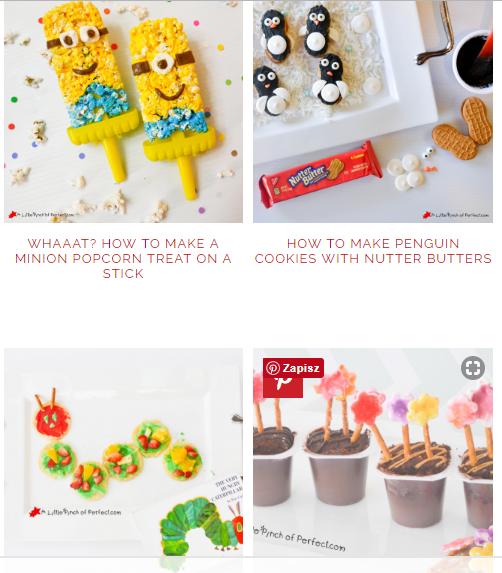 Food activities for kids