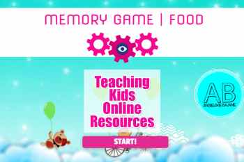 Interactive Memo Game: Fruit