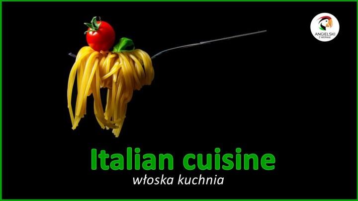 Italian cuisine czy kitchen