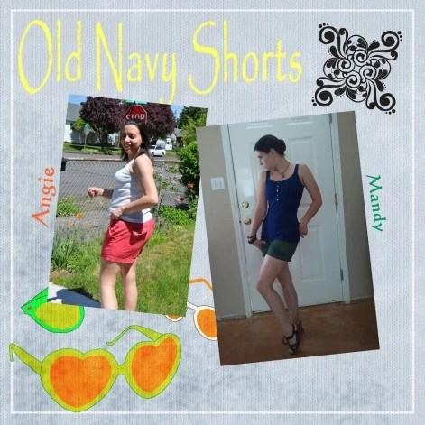Old Navy Shorts – Crowdtap Sample & Share
