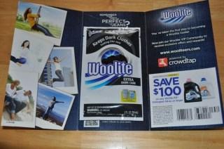 Woolite Dark Care Sample