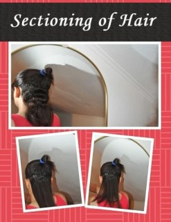 Sectioning of Straightening Hair