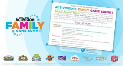 Activision Family Game Summit 2012