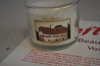 Bath & Body Works Mini Candles from Influenster