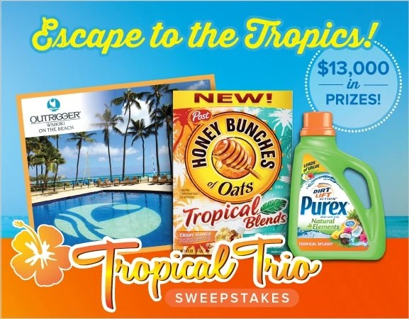Wanna win a dream vacation from Purex?