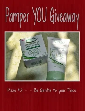 Pamper YOU Giveaway – Ends 11/8