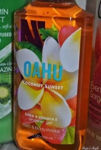 Bath & Body Works Oahu Coconut Sunset body wash