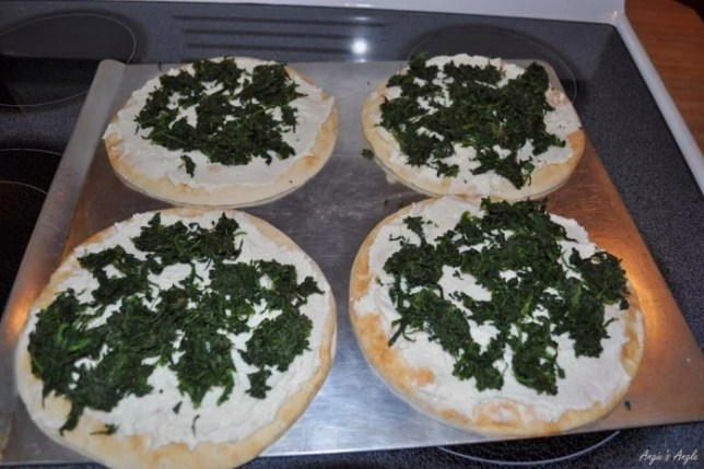 Greek Pizza for Healthy Tuedsay - Angie's Angle