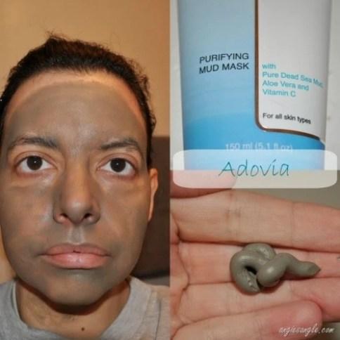Adovia Dead Sea Mask Collage