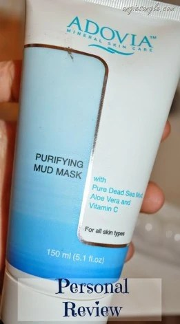 Getting Clear Skin with the Adovia Dead Sea Mud Mask–Personal Review