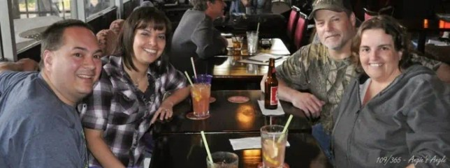 Day 109 - Dinner and Drinks with Carmita and Butch