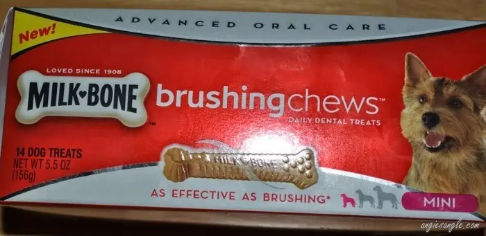 Treating your dog while cleaning their teeth with Milk-Bone Brushing Chews +giveaway ends 5/16 (4p.m PST)