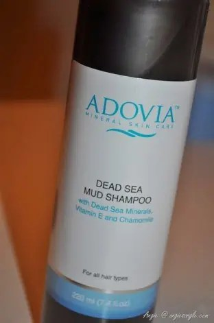 Get a Healthy Scalp & Hair with Adovia Dead Sea Mud Shampoo