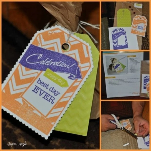 Spellbinders Celebrations Collection Review - Best Day Ever Treat Bag