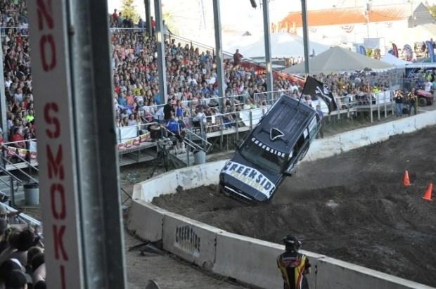 Tuff Trucks at the Clark County Fair 2014 - Vancouver, WA (2)