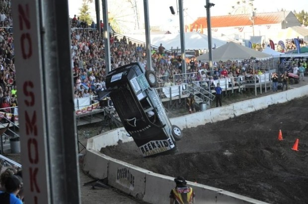 Tuff Trucks at the Clark County Fair 2014 - Vancouver, WA (5)