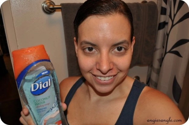 Dial Coconut Water Body Wash - Me Fresh from the Shower